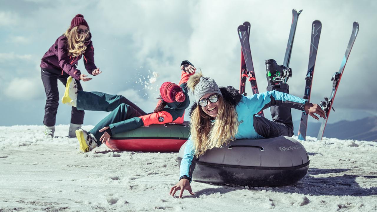 Esquís de mujer