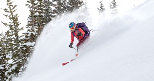 How to pick skis by Caroline Gleich