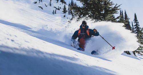 Esquiador, padre, bombero; conoce a Josh Bibby