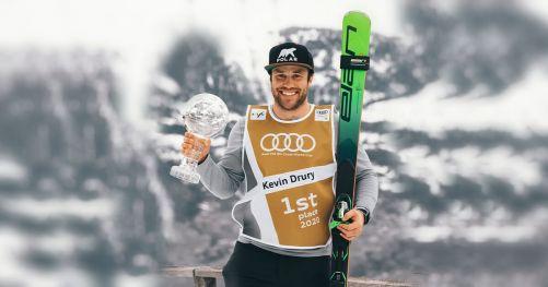 Kevin Drury, vincitore della Coppa del mondo di sci di fondo