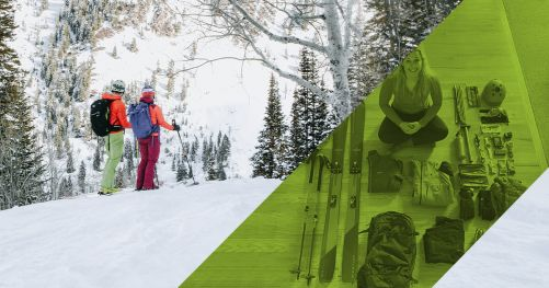 How to pack for a day of skiing in the backcountry