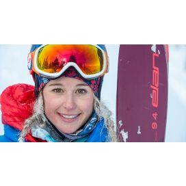Caroline Gleich Joins Elan Skis' W Studio
