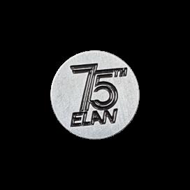 75 YEARS PIN