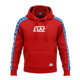 RETRO HOODIE RED