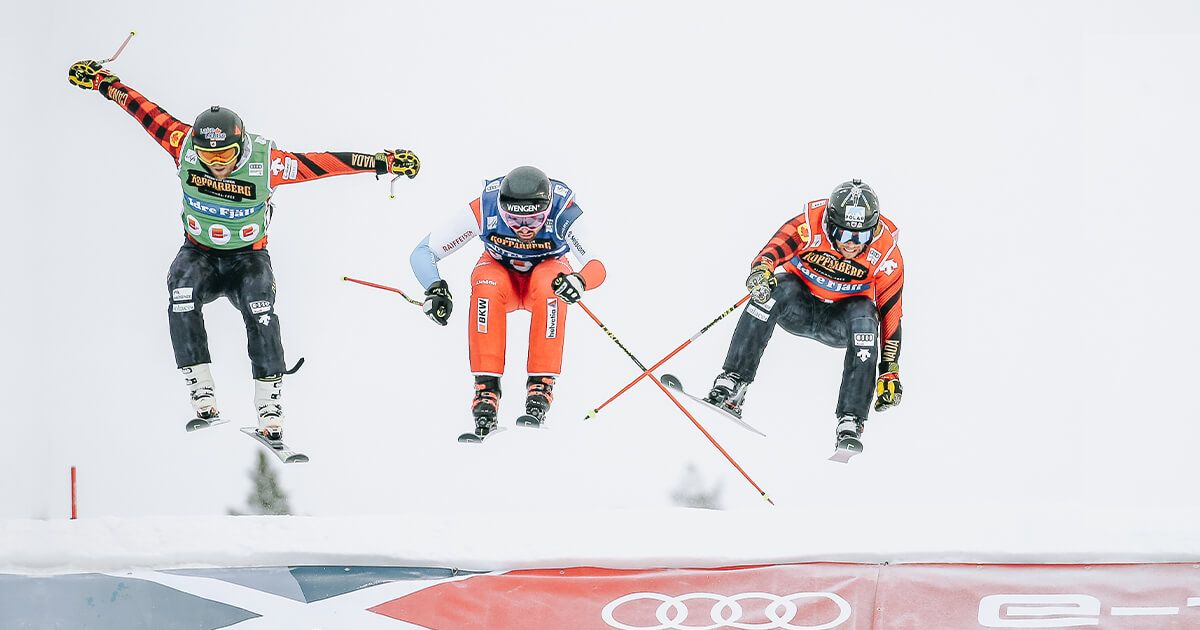Recap of Ski cross season 19/20 written by Kelsey and Ian - Leman, Regez and Drury