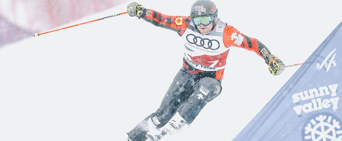 Brady Leman, ski cross Sunny Valley