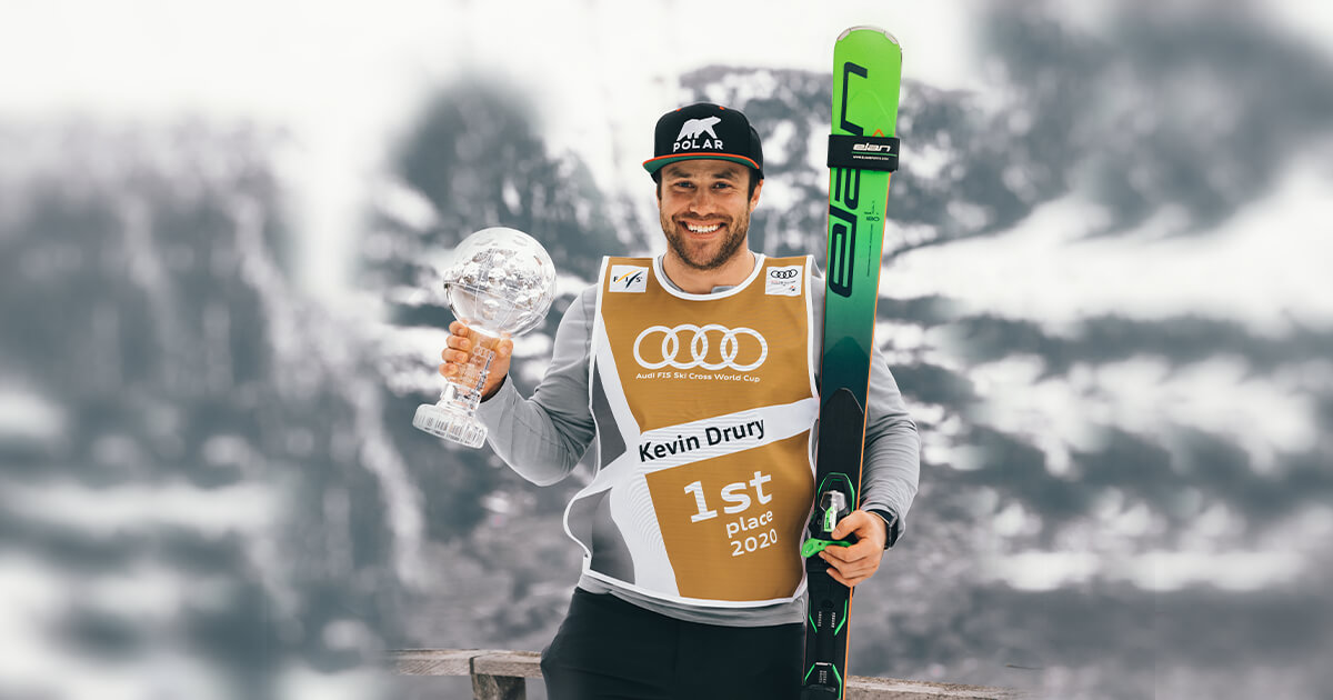 Kevin Drury, Ski cross World cup winner