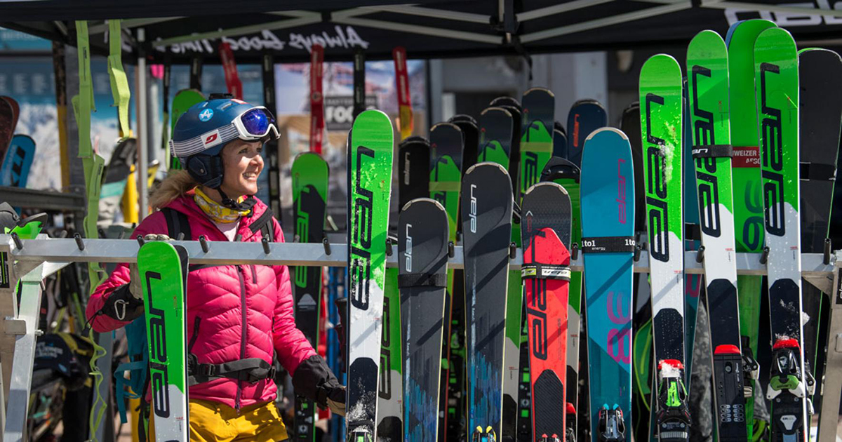 Ski selection 101: how to pick the perfect pair