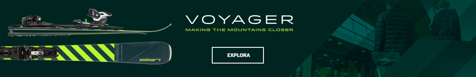 Voyager - THE WORLD'S FIRST FULLY FUNCTIONAL, FOLDING, ALL-MOUNTAIN SKI.