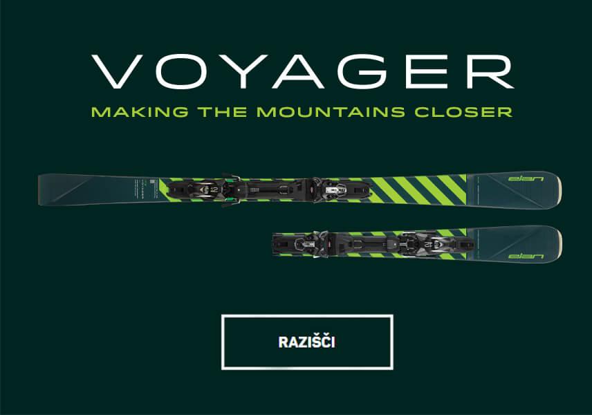 Voyager - PRVE ZLOŽLJIVE  VSESTRANSKE KARVING SMUČI NA SVETU